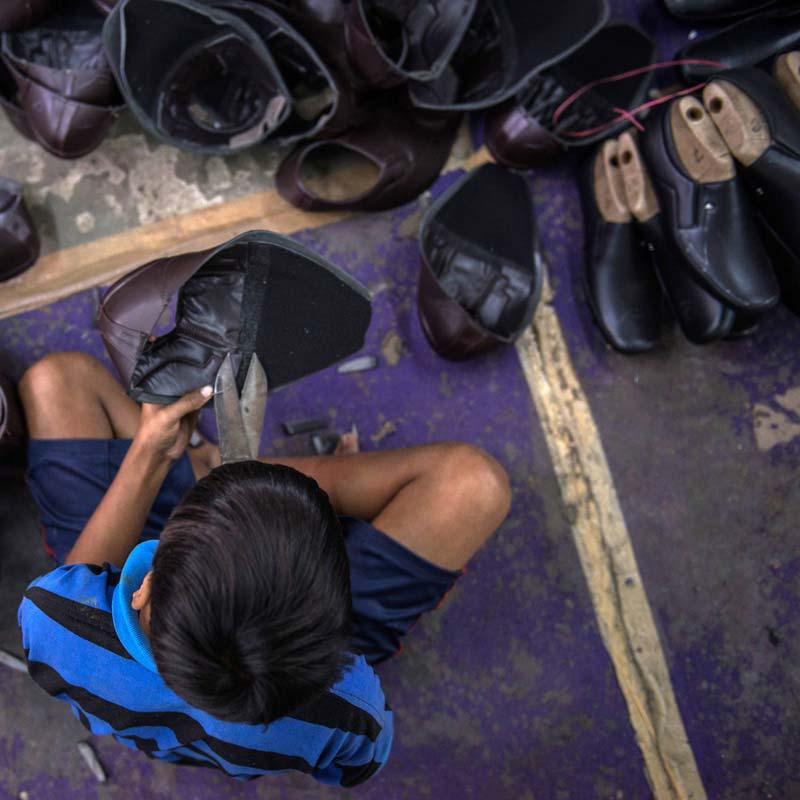 Jatin shoemaking